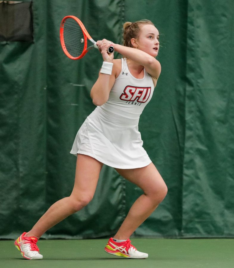 Yeo+Named+NEC+Women%E2%80%99s+Tennis+Player+and+Rookie-of-the-Month