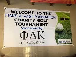 Phi Delta Kappa to Host Charity Golf Tournament