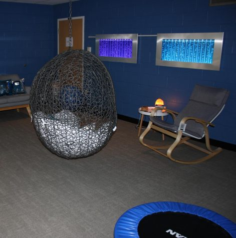 Occupational Therapy Department Unveils Sensory Room