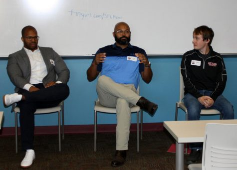 School of Business Alumni Return to Campus for Mentorship Day